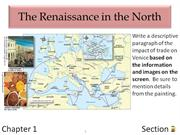 1-2 The Renaissance in the North
