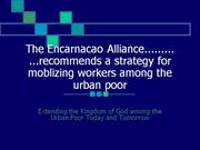 Encarnacao Alliance Training Commitment