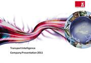 Transport Intelligence Introduction Presentation Aug 2011