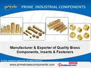 Precision Brass Components By Prime Industrial Components Jamnagar