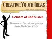 Sermon 4 kids: Corners of God's Love