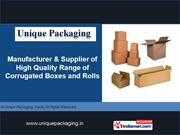 Packaging Boxes By Unique Packaging Pune