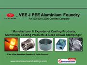 Casting Products By Vee J Pee Aluminium Foundry Coimbatore