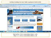 How Ski Accommodation Finder Works For Owners