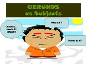 Gerunds