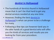 Dentist in Hollywood