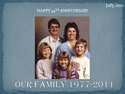 Our Family 1977-2011
