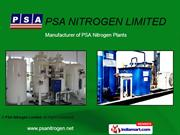 Gas Plant By Psa Nitrogen Ltd. New Delhi