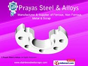 Butt-Weld Fittings By Prayas Steel & Alloys Mumbai