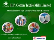 H. P. Threads By H. P. Cotton Textile Mills Limited New Delhi