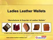 leather checkbook wallet by ladies leather wallets (an unit of x l