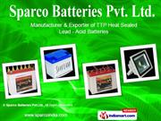 Automotive Batteries By Sparco Batteries Pvt Ltd New Delhi