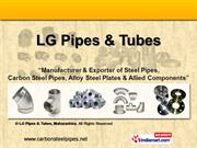 Buttweld Fittings By Lg Pipes & Tubes Mumbai