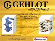 Flexographic Printing Machines (Standard Model) By Gehlot Industries