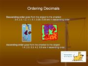 Lisa_descending and ascending decimals