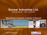 Marine Grade Plywood By Sonear Industries Ltd New Delhi
