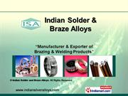 Copper Based Brazing Alloys By Indian Solder And Braze Alloys Meerut