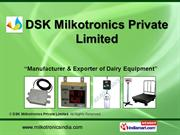 Weighing Scales By DSK Milkotronics Private Limited Pune