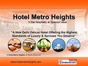 Delhi Tourist Attractions By Hotel Metro Heights New Delhi