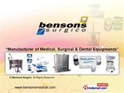 Dental Material By Bensons Surgico New Delhi