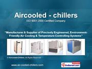 Screw Chillers By Aircooled-Chillers Noida