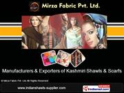 Embroidered Mufflers By Mirza Fabric Pvt. Ltd. New Delhi