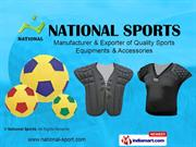 Shin Guards By National Sports Meerut