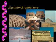 Egyptian Architecture Presentation