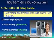 Tiet 567gt ve may tinh