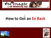 How to Get an Ex Back