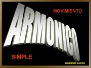 MOVIMIENTO ARMONICO SIMPLE