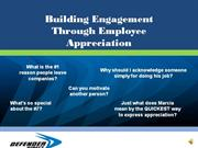 Appreciation Module With Narration ppt