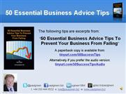 Strategy: Essential Business Advice Tips