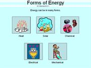 6-5.1 Notes - Forms of Energy