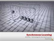 Dave Scull - Synchronous Learning  Video 08.22.11