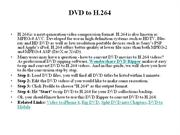 DVD to H.264