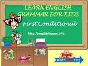 Learn English Grammar - First Condition