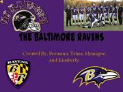 The Baltimore RAVENS 2011