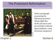 1-3 The Protestant Reformation