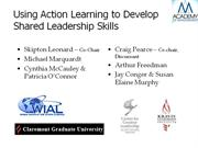 Coaching - Using Action Learning to Develop Shared Leadership Skills