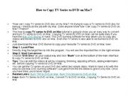 How to Copy TV Series to DVD on Mac