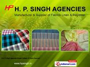 Woven Fabrics By H. P. Singh Agencies Private Limited New Delhi