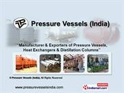 Heat Exchangers By Pressure Vessels (India) Pune