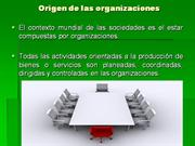 origen de las organizaciones