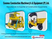 Block Making By Cosmos Construction Machineries And Equipments Pvt.