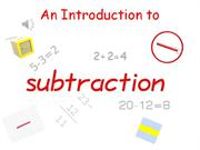 an introduction to subtraction