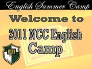 NCC Summer Camp 2011 PPT