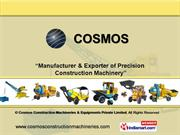 Twinshaft Mixer By Cosmos Construction Machineries & Equipments