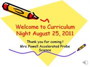 Welcome to Curriculum Night 2011-2012.video