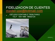 FIDELIZACION CLIENTES